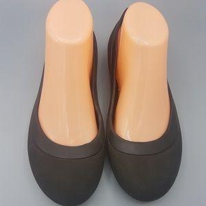 Black Crocs  Flats,ladies